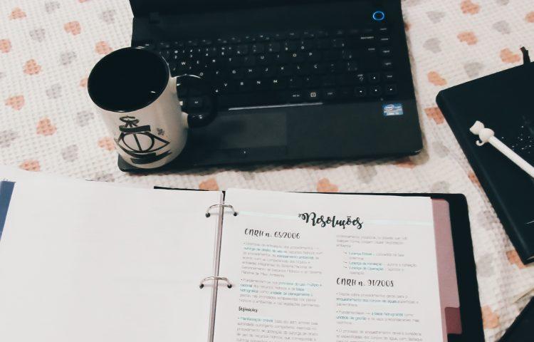 Minhas horas de estudo