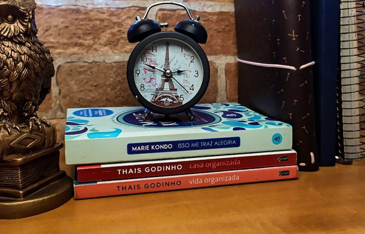 Dicas de livros de organização